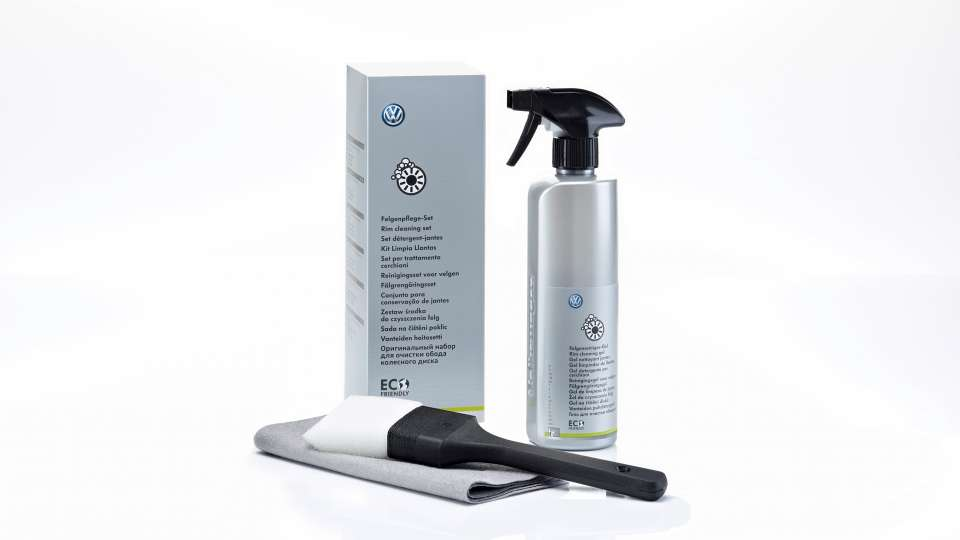 Wheel cleaner gel set