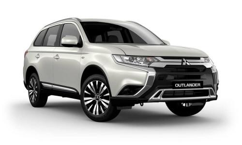 2018 MY19 Mitsubishi Outlander ZL ES Wagon