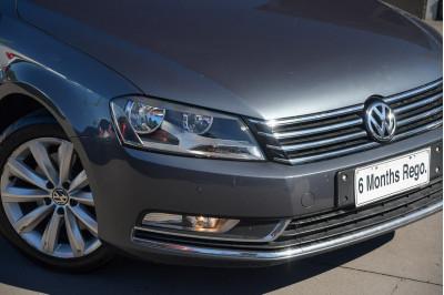 2015 Volkswagen Passat Type 3C MY15 118TSI Sedan Image 3