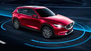 CX-5 Safety that's ready for the unexpected