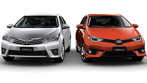Corolla Sleek, sporty and elegant design