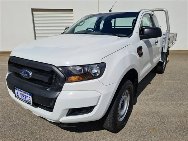 2016 Ford Ranger PX MkII XL Cab chassis - extended cab