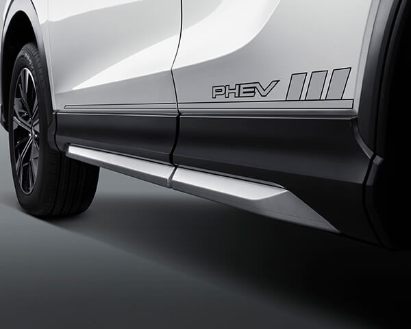 PHEV side body decal