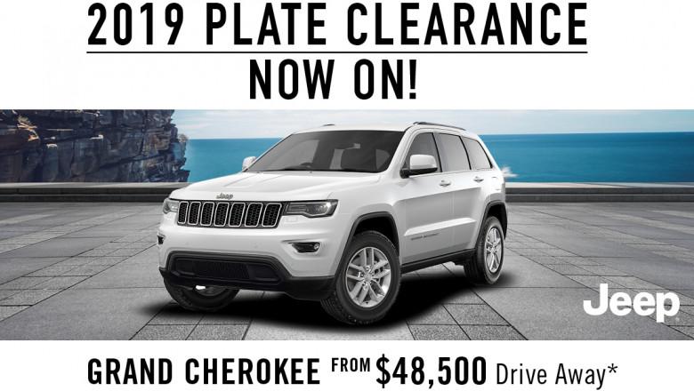 Jeep 2019 Plate Clearance