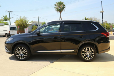 2017 Mitsubishi Outlander ZK MY17 LS 2WD Safety Pack Suv Image 4