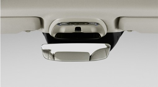 Interior rear view mirror with autodim