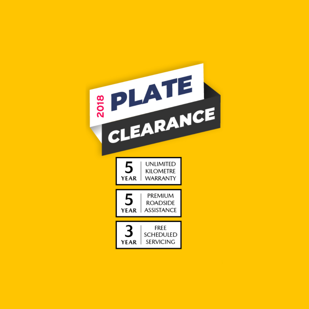 2018 Plate Clearance – Time To Say GoodBuy