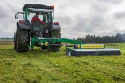 New FieldQuip Major Side Mounted Grass Topper
