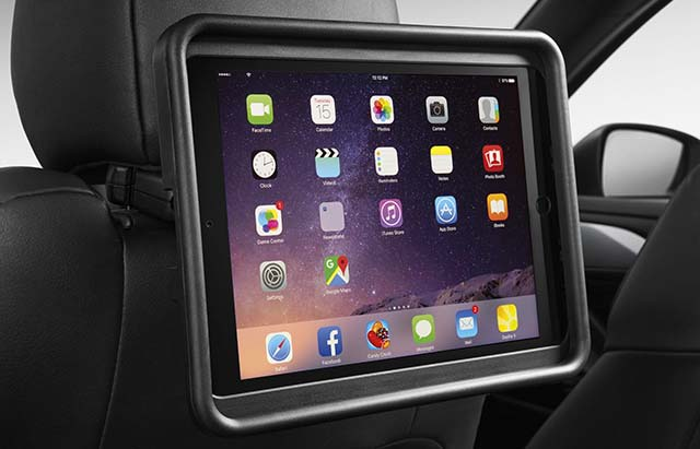 Rear Seat Entertainment Holder for iPad