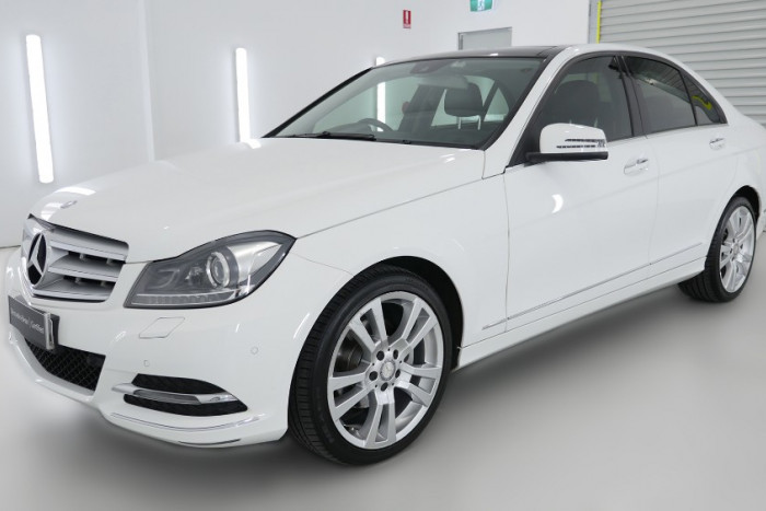 2012 MY13 Mercedes-Benz C250 W204 MY13 C250 BlueEFFICIENCY Sedan