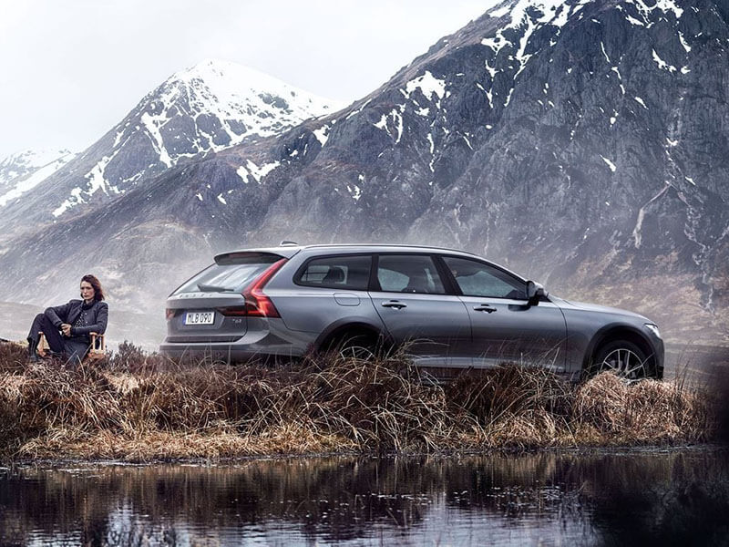 The Luxury Station Wagon Built for Adventure. Image