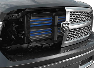 1500 Laramie V6 EcoDiesel ACTIVE GRILLE SHUTTERS