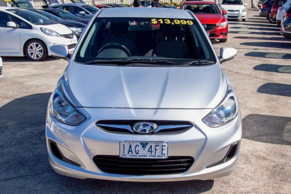 2013 Hyundai Accent RB2 Active Hatchback Image 3