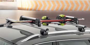 Lockable Ski and/or Snowboard Carrier