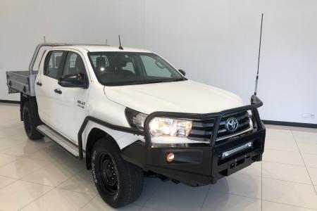 2018 Toyota HiLux GUN126R Turbo SR 4x4 d/c chassis