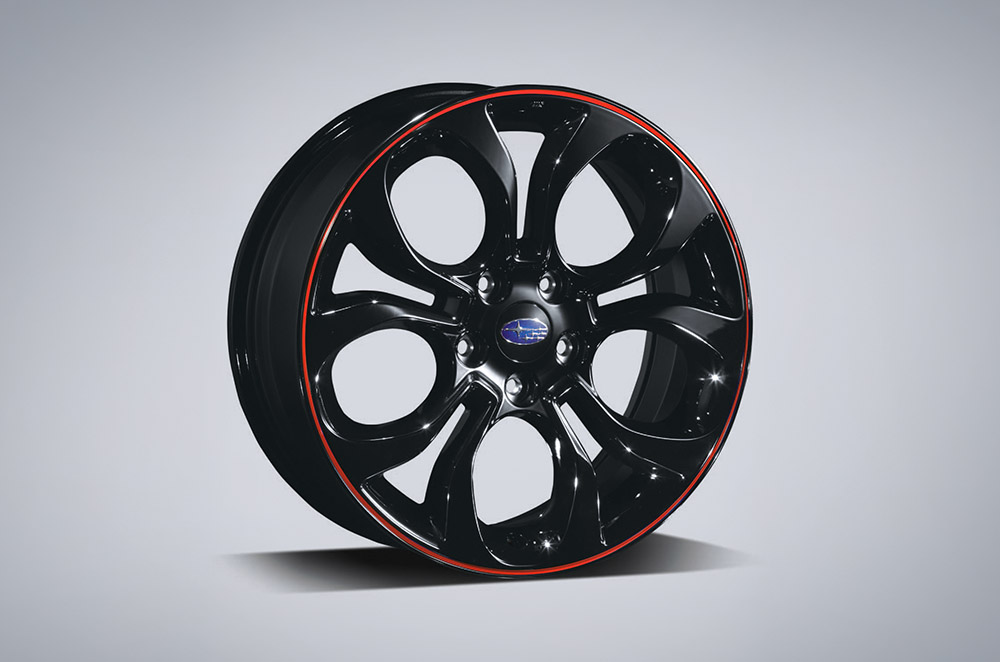 "Alloy Wheel Set 18"" - Red"