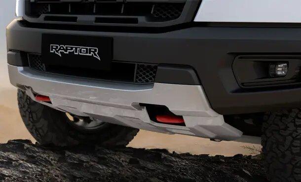 Ranger Raptor X Red Front Tow Hooks