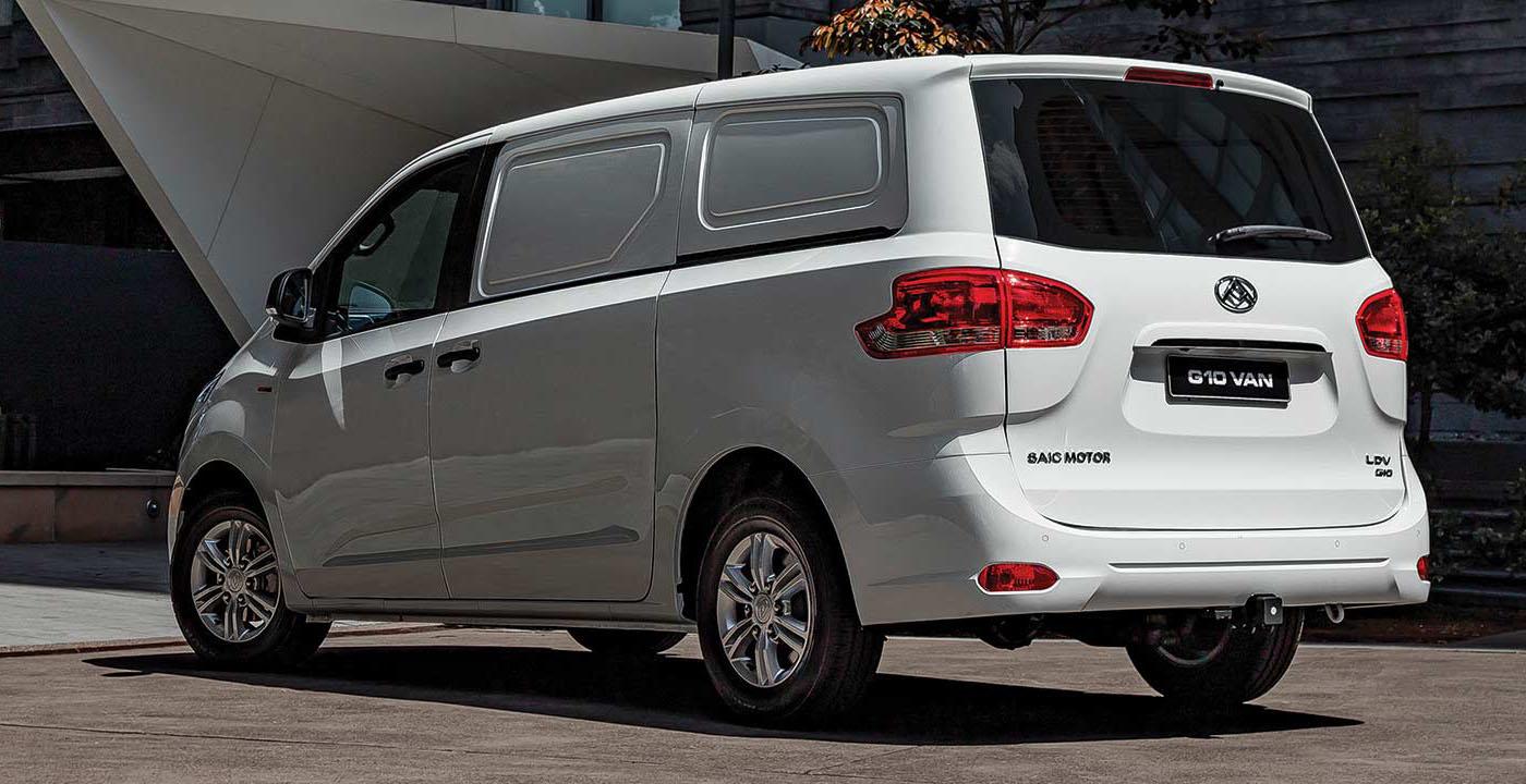 LDV G10 Van Safety Image