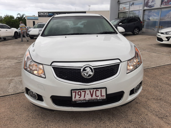 2011 MY12 Holden Cruze JH Series II  CDX Sedan Image 2