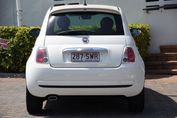 2012 Fiat 500 Vehicle Description.  1 MY12 HATCHBACK 3DR MAN 5SP 0.9T Hatchback Image 4