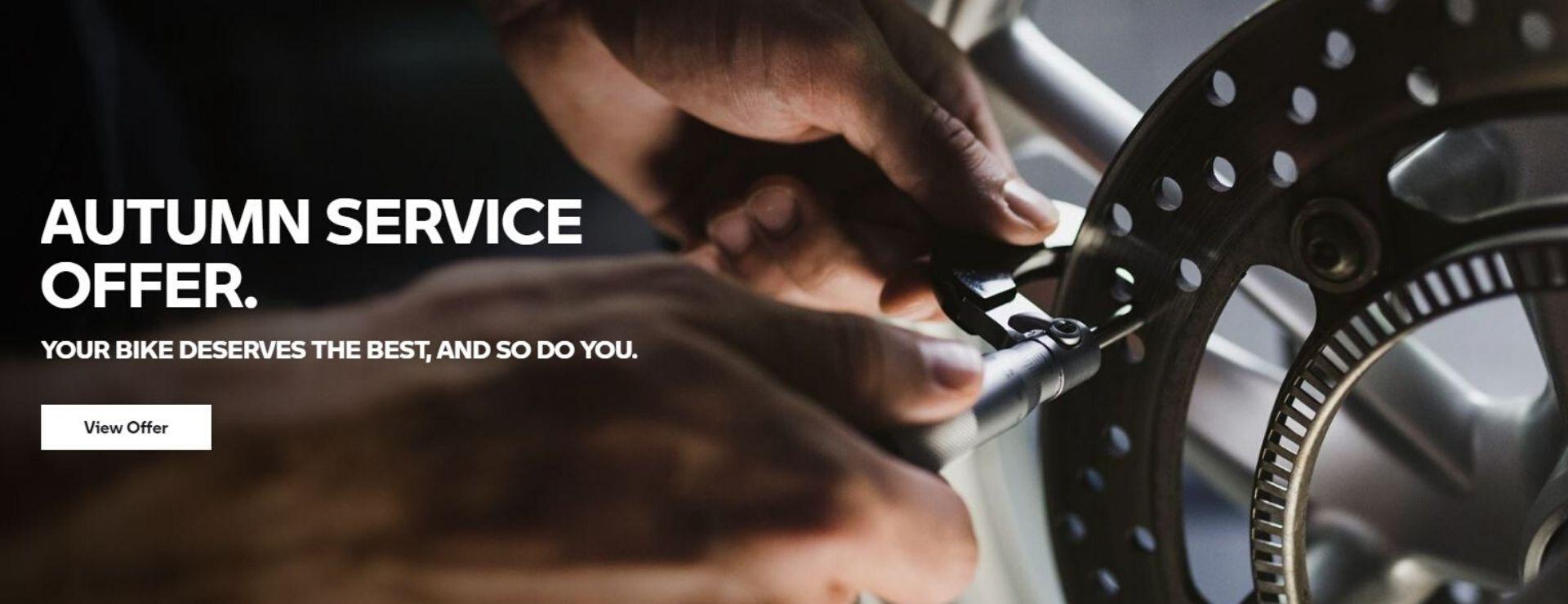 BMW Motorrad Service Offer