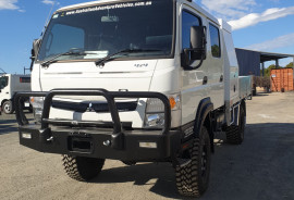 Fuso Canter 4X4 with tray and modifications 4X4 4X4 CREW CAB