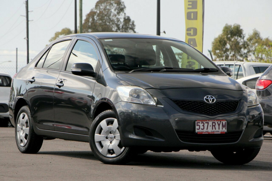 2010 Toyota Yaris NCP93R MY10 YRS Sedan