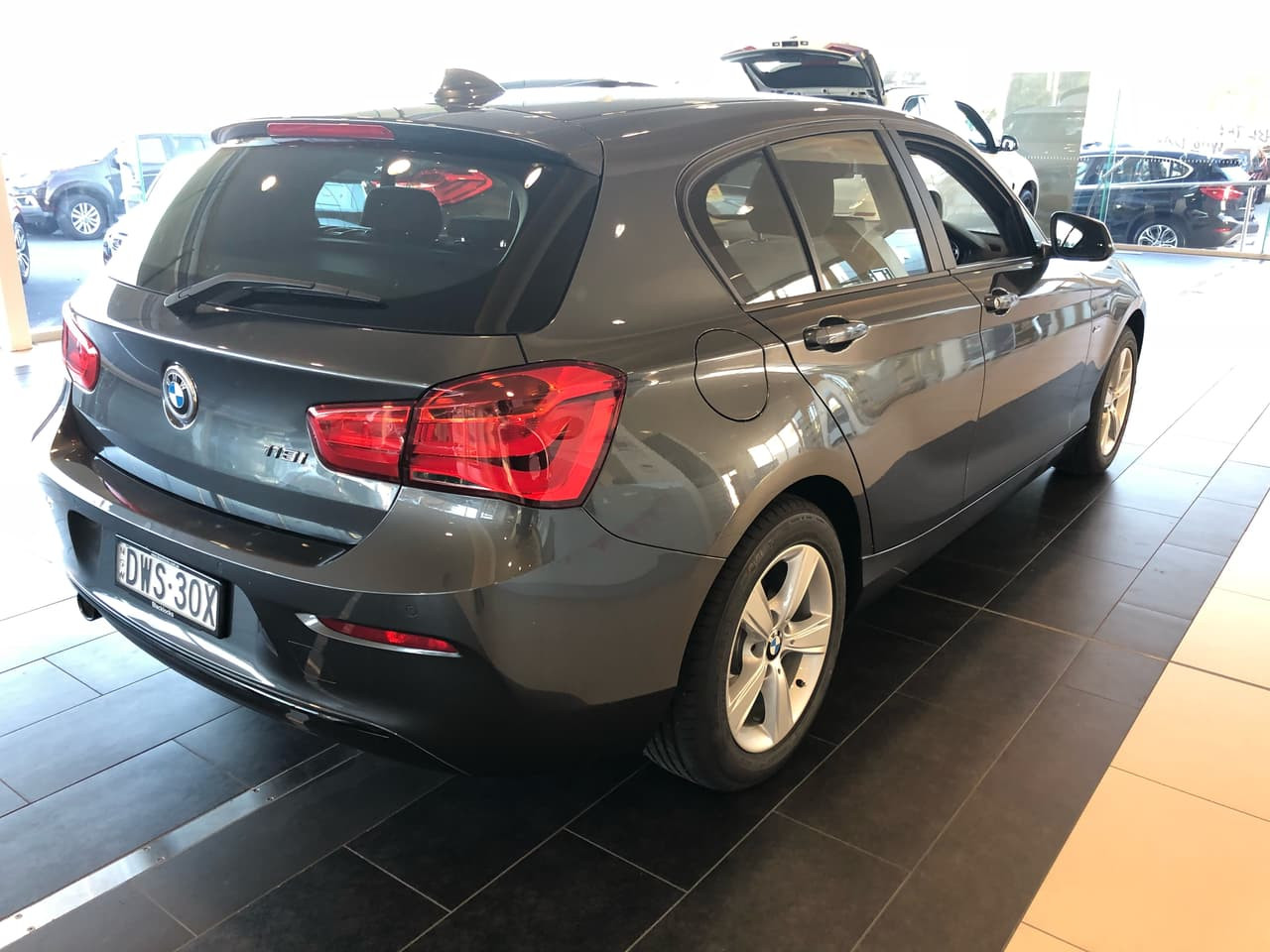 2018 BMW 1 Series F20  SPORTS Hatchback