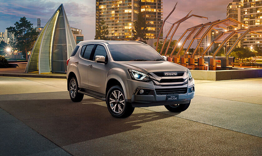 Isuzu UTE Explore The 7-seat Mu-x