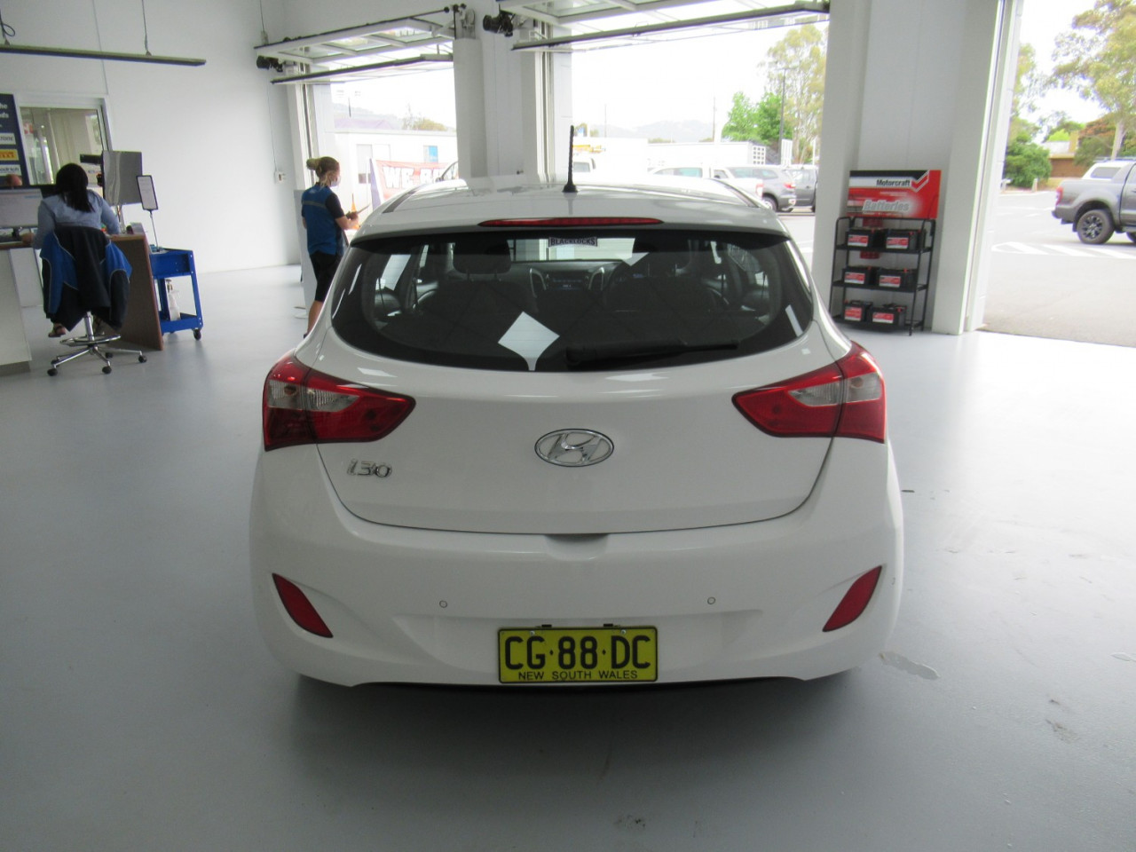 2016 Hyundai I30 GD4 SERIES II MY17 ACTIVE Hatchback Image 7