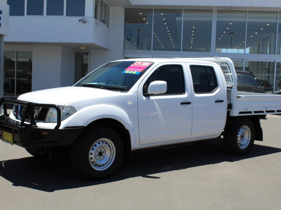 2013 MY12 Nissan Navara D40 S7  RX Cab chassis - dual cab