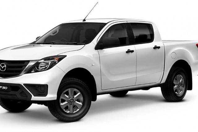 2020 MY19 Mazda BT-50 UR 4x4 3.2L Dual Cab Pickup XT Other