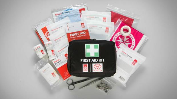 First Aid Kit - Personal Motorist Kit