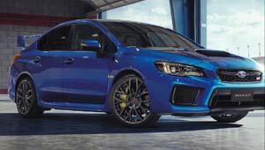 WRX STI The thrill of the moment