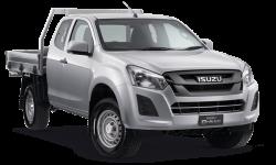 New Isuzu UTE SX Space Cab Chassis 4x4
