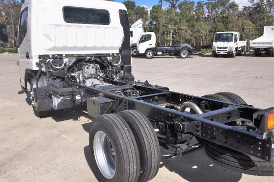 2017 Fuso Canter WIDE CAB 515 Wide Cab Cab chassis
