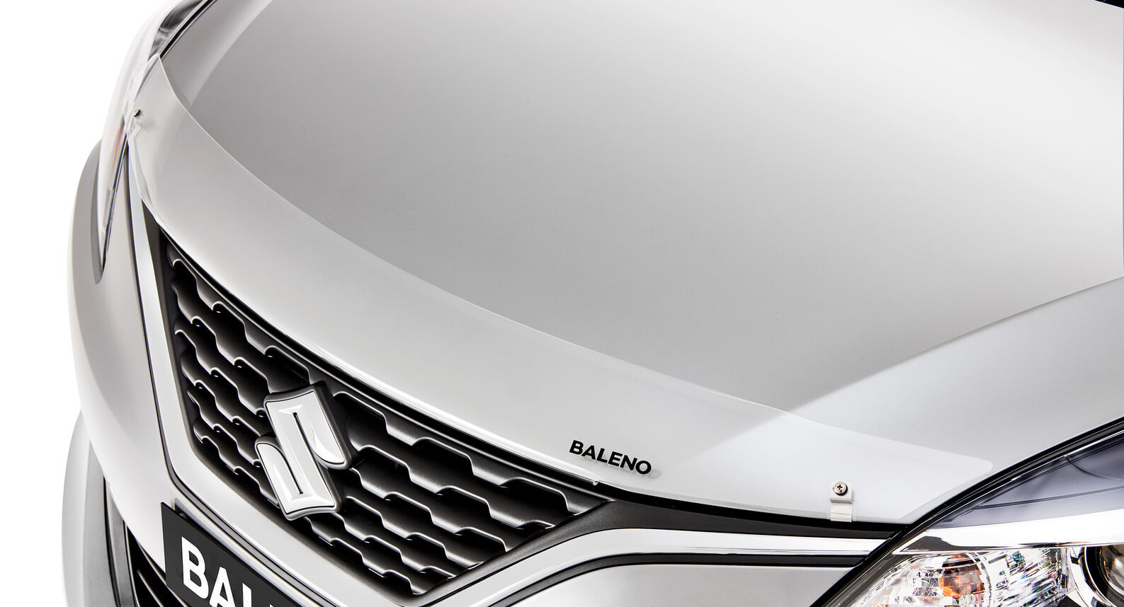 Baleno - Bonnet Protector, Clear