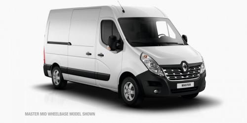 2018 Renault Master Van X62 Short Wheelbase Van
