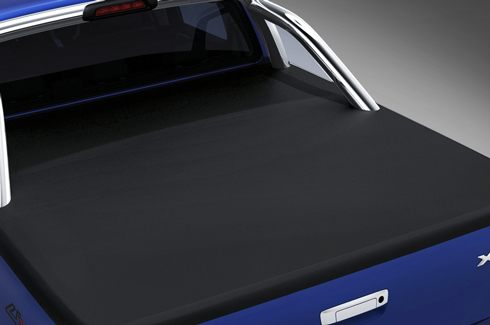 """<img src=""""Tonneau Cover - Soft - Double Cab - less load rest"""