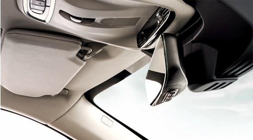 HomeLink, Interior rear view mirror with autodim