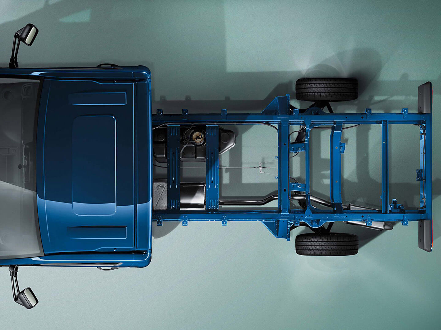 Transporter Cab Chassis In a <strong>class of its own</strong>