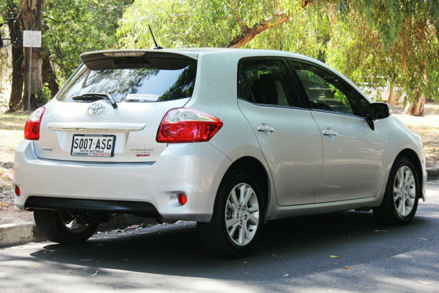 2012 MY11 Toyota Corolla ZRE152R MY11 Ascent Sport Hatchback