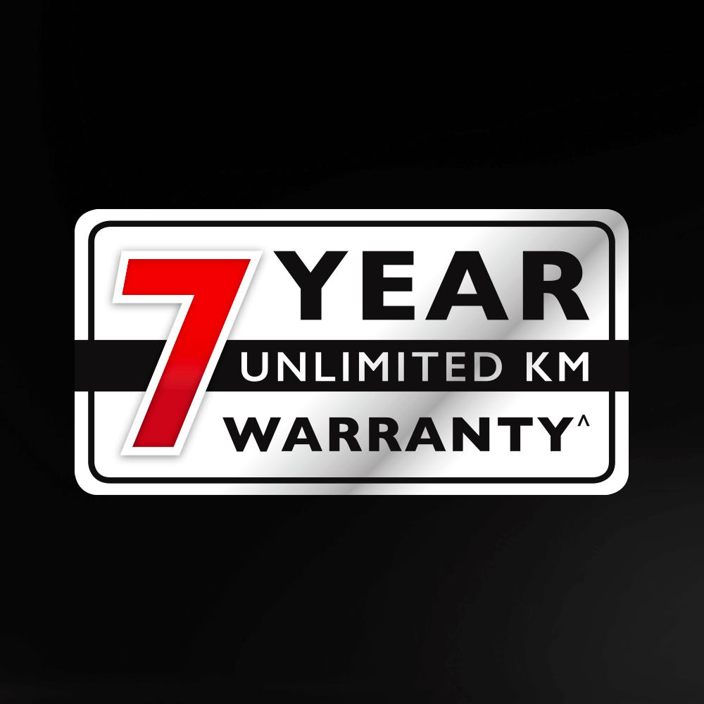 MG 7 year warranty