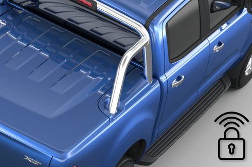 """<img src=""""Tonneau Cover - Hard - 3 Piece with Remote Locking - Body Colour"""