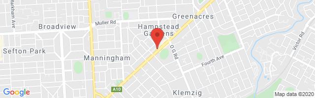 Newspot MG Main - Hampstead Gardens Map