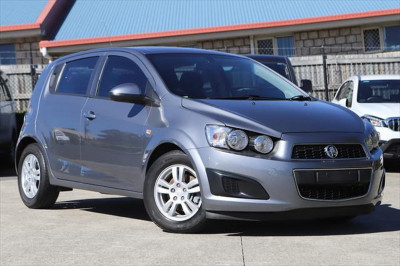 2013 Holden Barina TM MY13 CD Hatchback