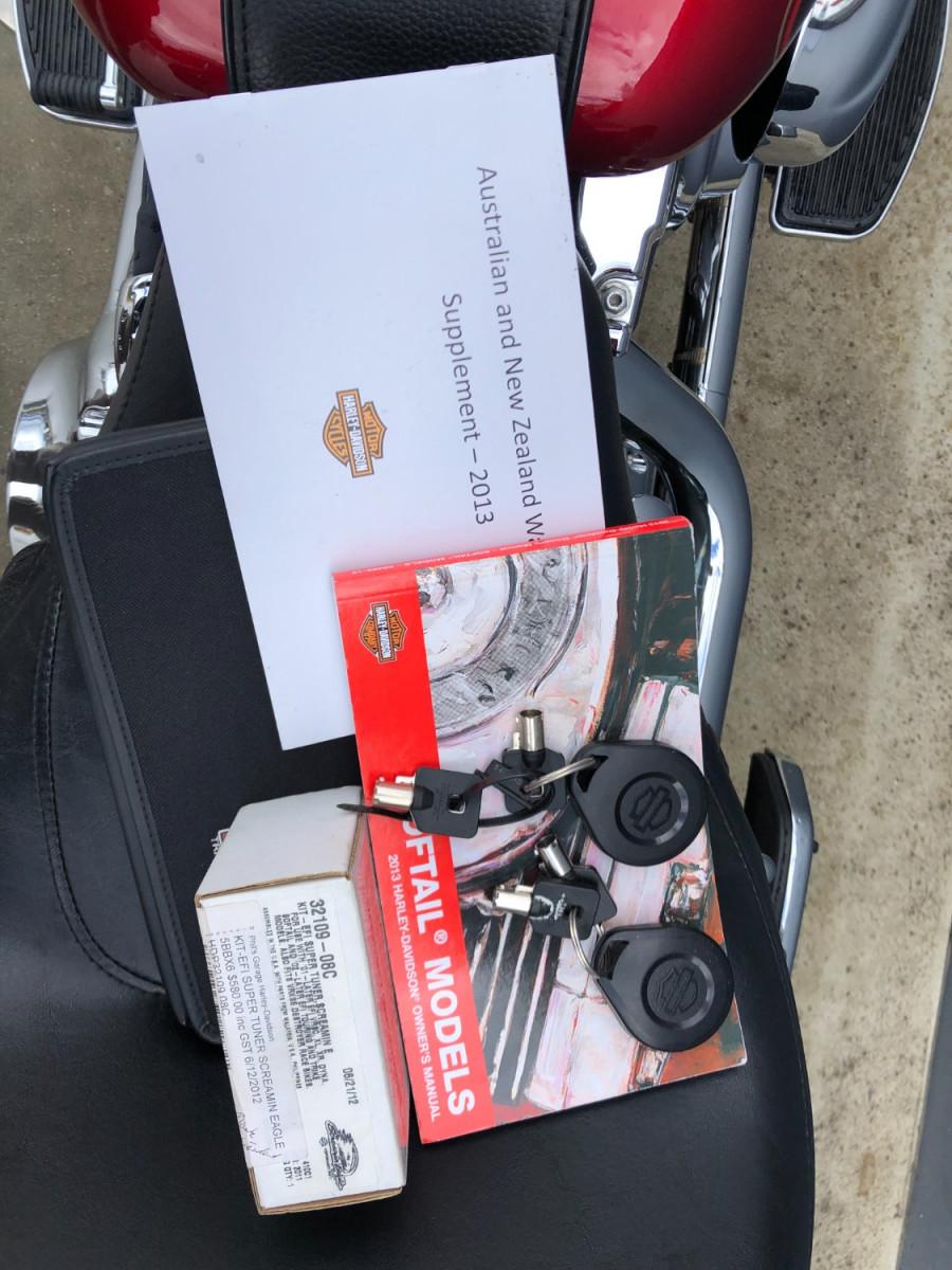2012 Harley Davidson Fatboy FLSTE1 Motorcycle Image 14