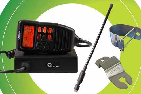 "<img src=""UHF CB Radio - Oricom - Sports bar or Fender fitment"