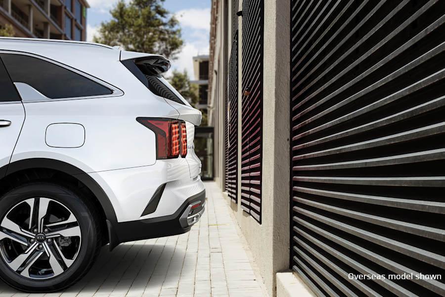 Parking Collision Avoidance Assist