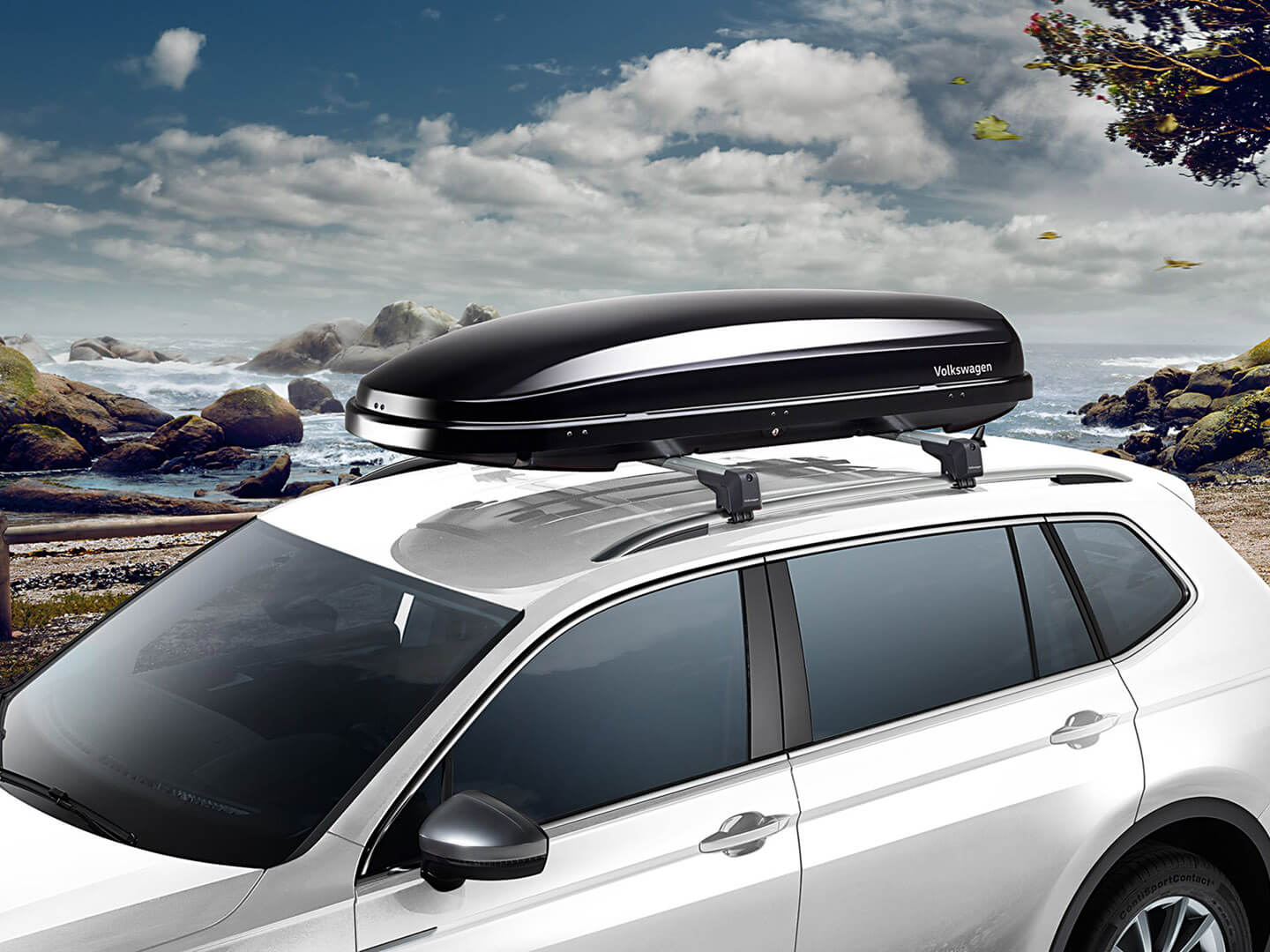 Premium roof box 340 and 460 litres Transport Image